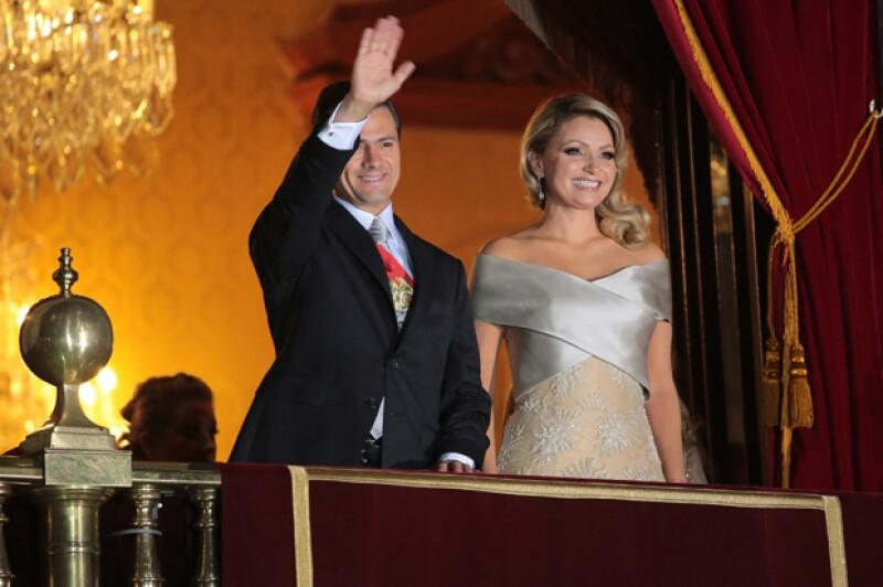La primera dama de México usó un vestido cuyo diseñador no fue Benito Santos.