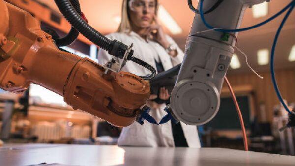 brazos de robot