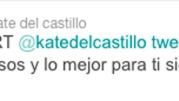 Tras el revuelo que causó su carta dirigida a &#39El Chapo&#39 Guzmán, la actriz parece estar en calma y aprovecha la red social para mandar saludos.