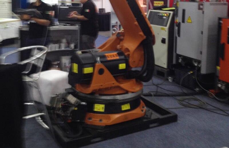 Eurobots sorprendi� con sus propuestas de ?robots de ocasi�n?o de segunda mano