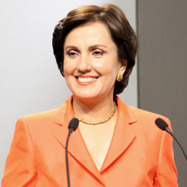 Cuarto lugar en la elección de 2006 y la mujer que ha conseguido más votos en la historia de México. Actualmente es defensora de los derechos humanos.