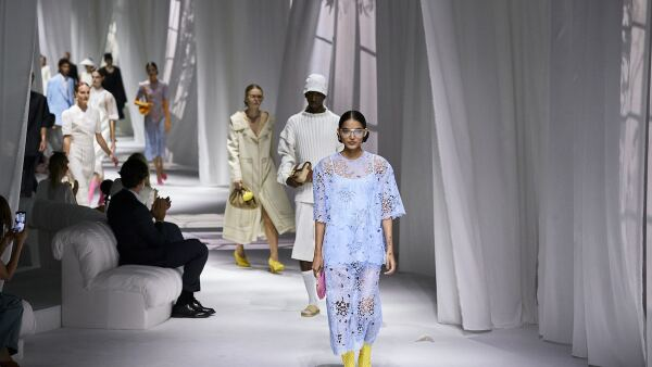 Fendi show, Runway, Spring Summer 2021, Milan Fashion Week, Italy - 23 Sep 2020