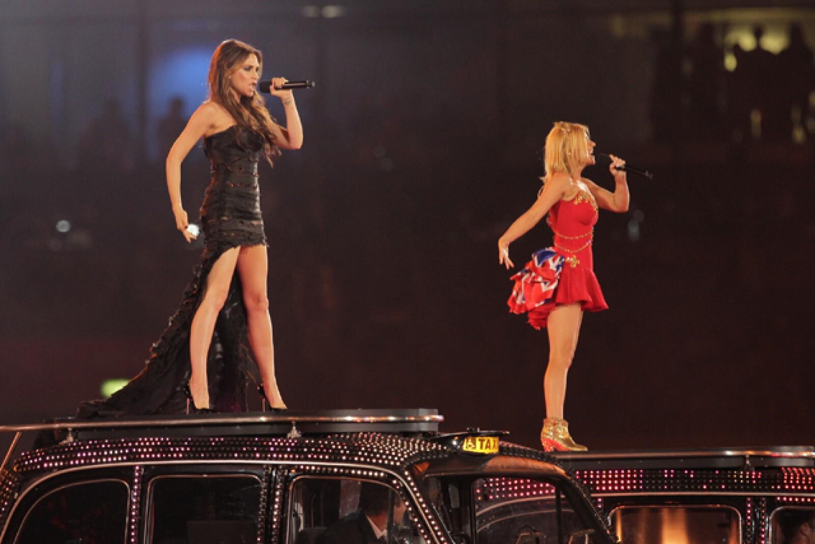 Victoria participó en otro reencuentro de las Spice Girls, esta vez durante los juegos olímpicos de Londres en 2012.