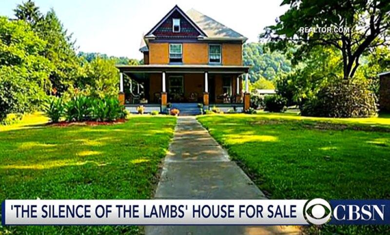 La casa en donde el asesino serial Buffalo Bill vivió en el filme de 1991 se pone en venta por 300 mil dólares.