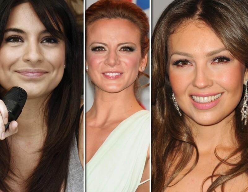 Ana Brenda, Thalía y Silvia Navarro, son algunas de las mexicanas que aparecen en la lista.