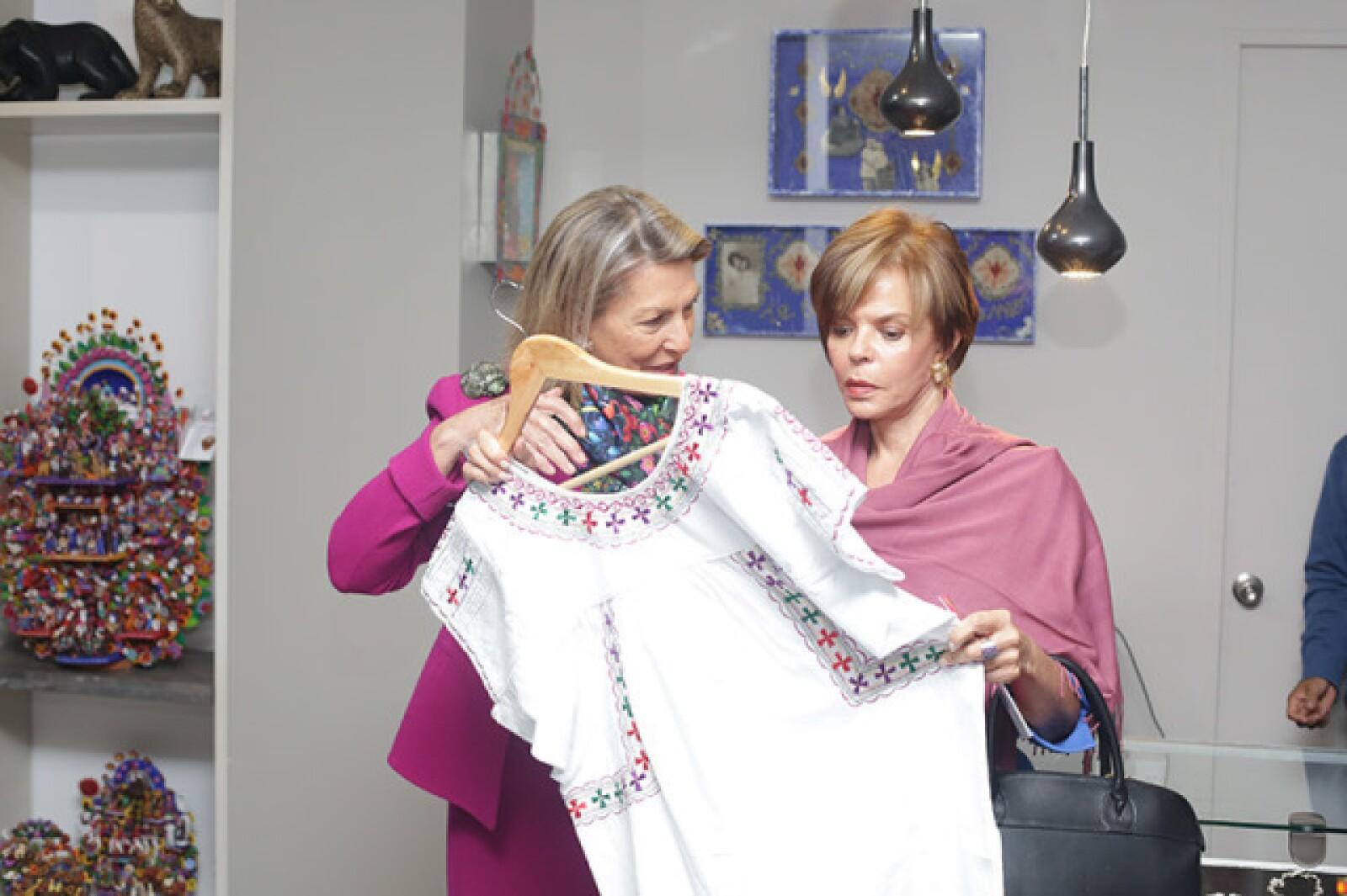 Marie Thérèse Arango y Ana Luisa Lerdo de Tejada