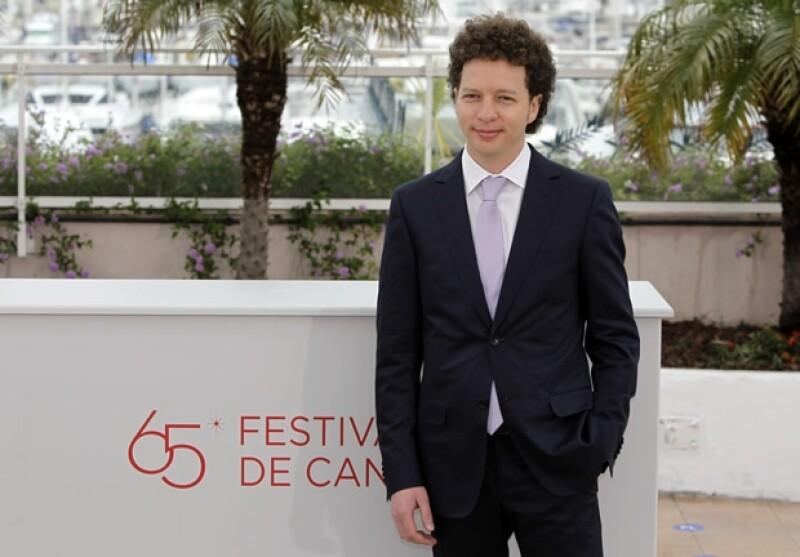 Michel Franco durante el festival.
