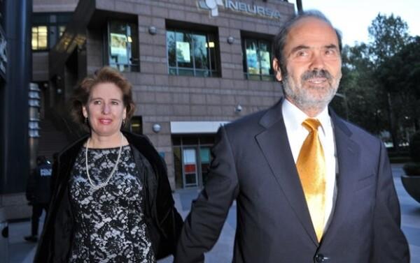 Entre los invitados estuvo el senador Gustavo Madero, quien fue acompañado por su esposa.