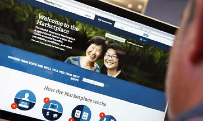 El portal HealthCare.gov es la principal vía para que personas en 36 estados se inscriban. (Foto: Reuters)