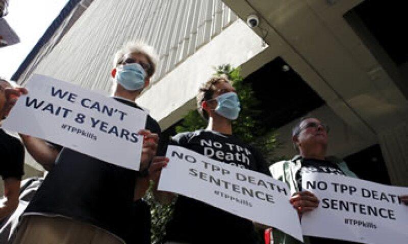 La reunión de los ministros de los 12 países interesados en el TPP se da en medio de algunas protestas. (Foto: Reuters )