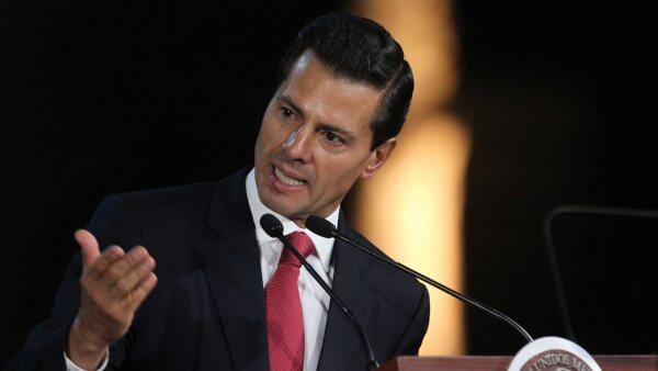 Peña anunció que la legislación está en un marco de revisión.