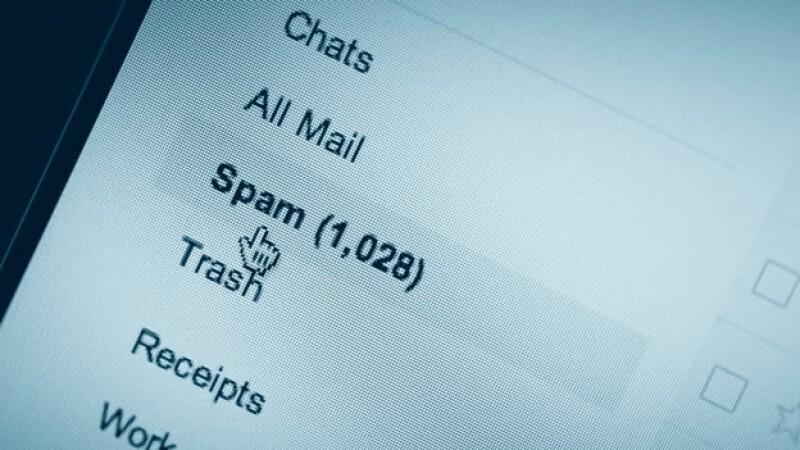 correo electronico spam inbox