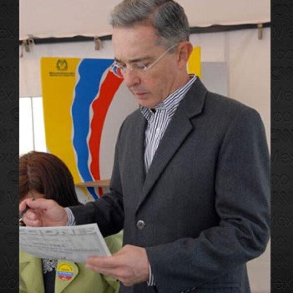 voto de uribe AFP