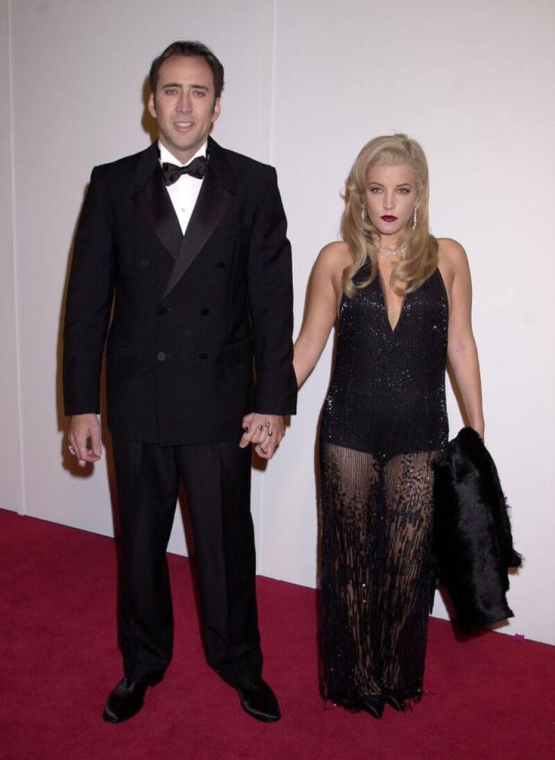Nicolas solo duró tres meses con la hija de Elvis.