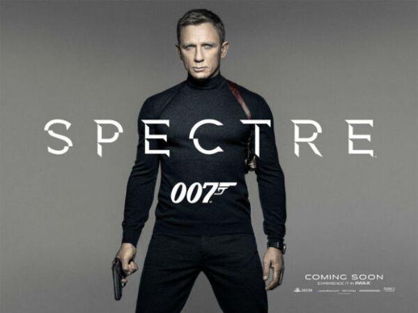 Daniel Craig en la primera imagen promocional de Spectre.
