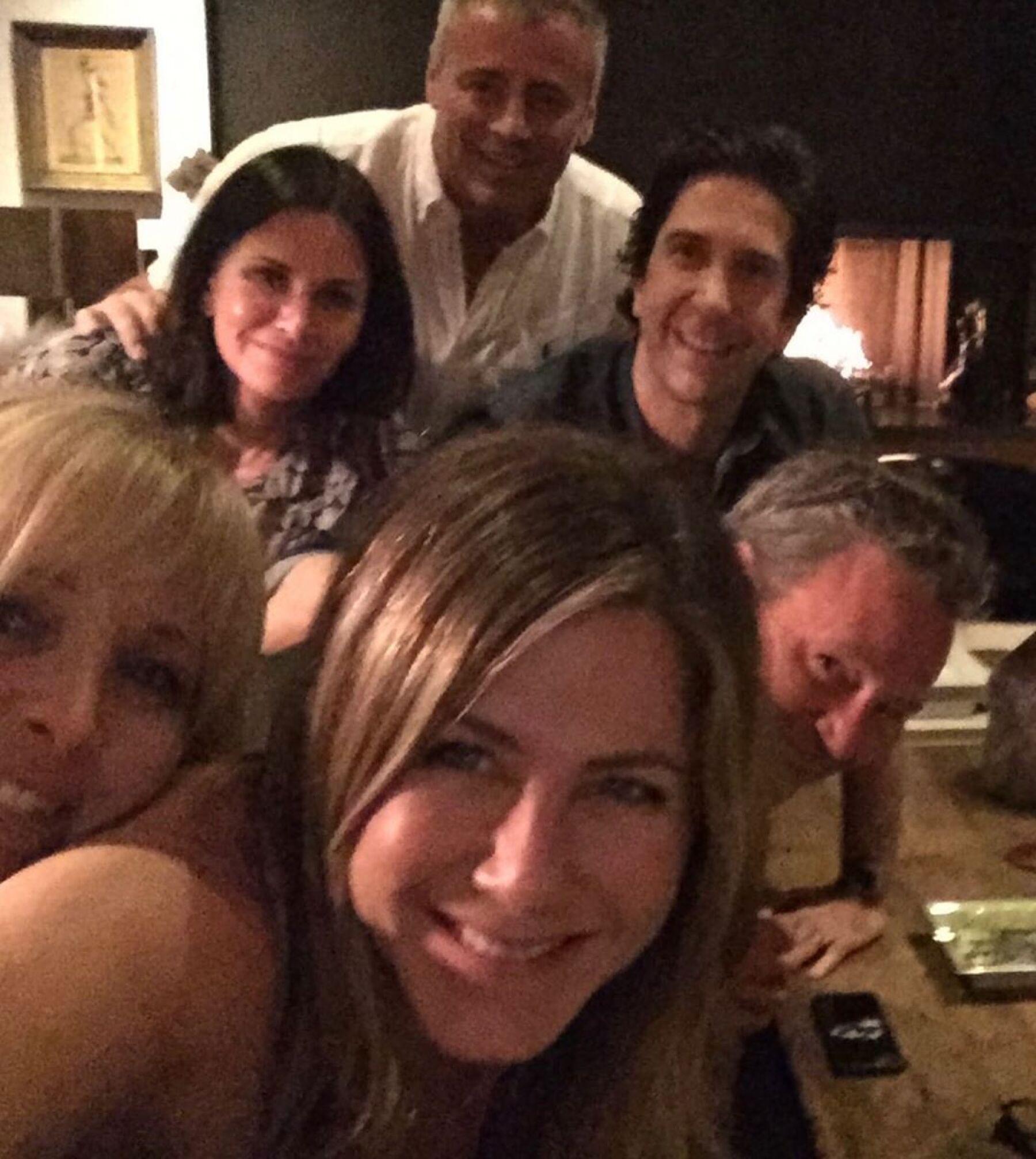 Primera publicación de Jennifer Aniston en Instagram.