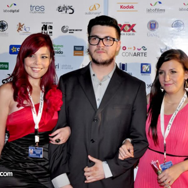Maricela Nuñez, Ricardo Verastegui y Alejandra Arrieta