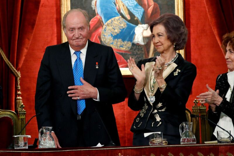 Spanish Royals Attend A Ceremony To Celebrate King's 80th Birthday