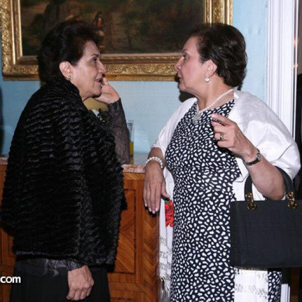 Bertha Gutiérrez,María del Carmen R. de Saynez