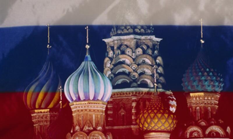 Rusia puede tener una contracción de 1.8% este año si las tensiones se intensifican, dijo el Banco. (Foto: Getty Images)