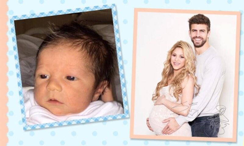 Apenas ayer la cantante dio a conocer el pie de su bebé, quien nació hace unos días, pero ahora presenta, oficialmente, a su pequeño.