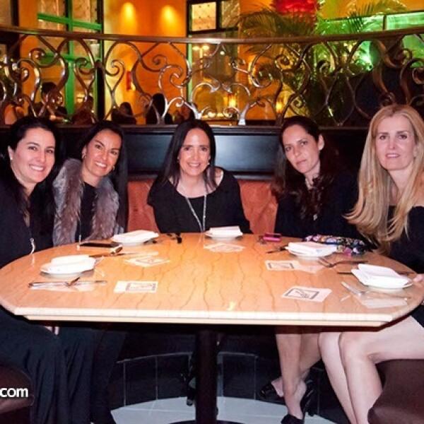 Daniela Lebrija, Ana Paula Vega, Gaby Sandoval, Mimisa Ruíz y Magaly Fernández