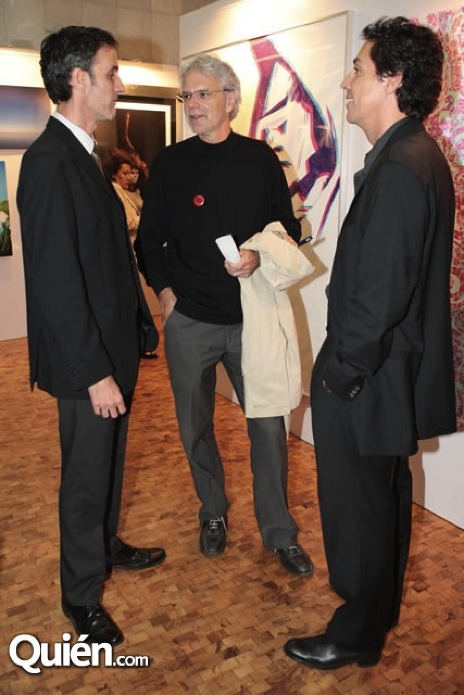 Luis Pastrana, Patrick Silvier, Christian Vizl