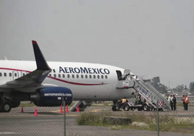 El director de Aeroméxico, Andrés Consea, dijo que la responsabilidad del avión secuestrado recae en el aeropuerto de Cancún. (Foto: NTX)