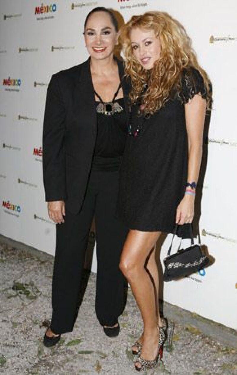 Hace unos días, La Chica Dorada anunció que producirá programas junto a su madre.