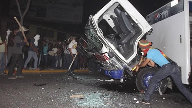 protestas normalistas Oaxaca