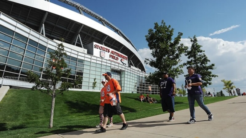 Mile High Broncos estadio GET
