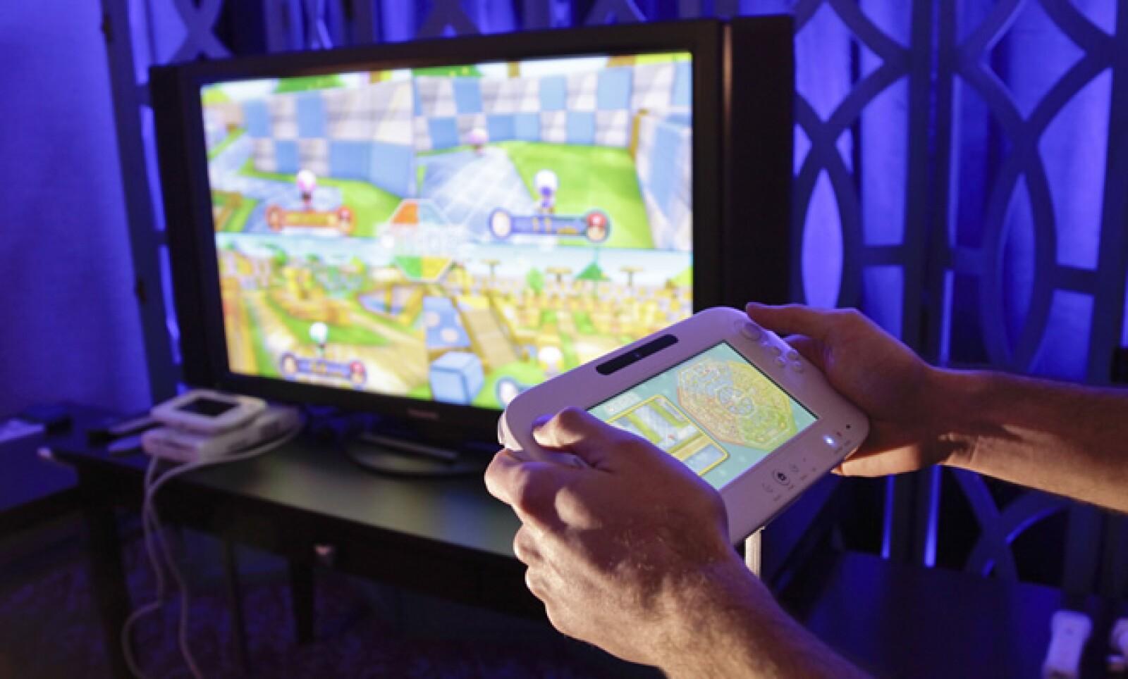 La compañía mostró avances de lo que será su próxima consola de juegos Wii U.