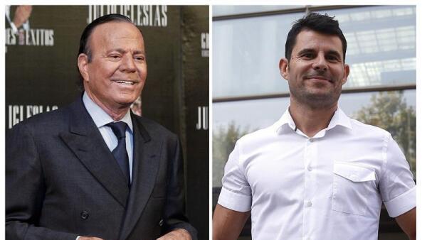 Julio Iglesias y Javier Sánchez Santos