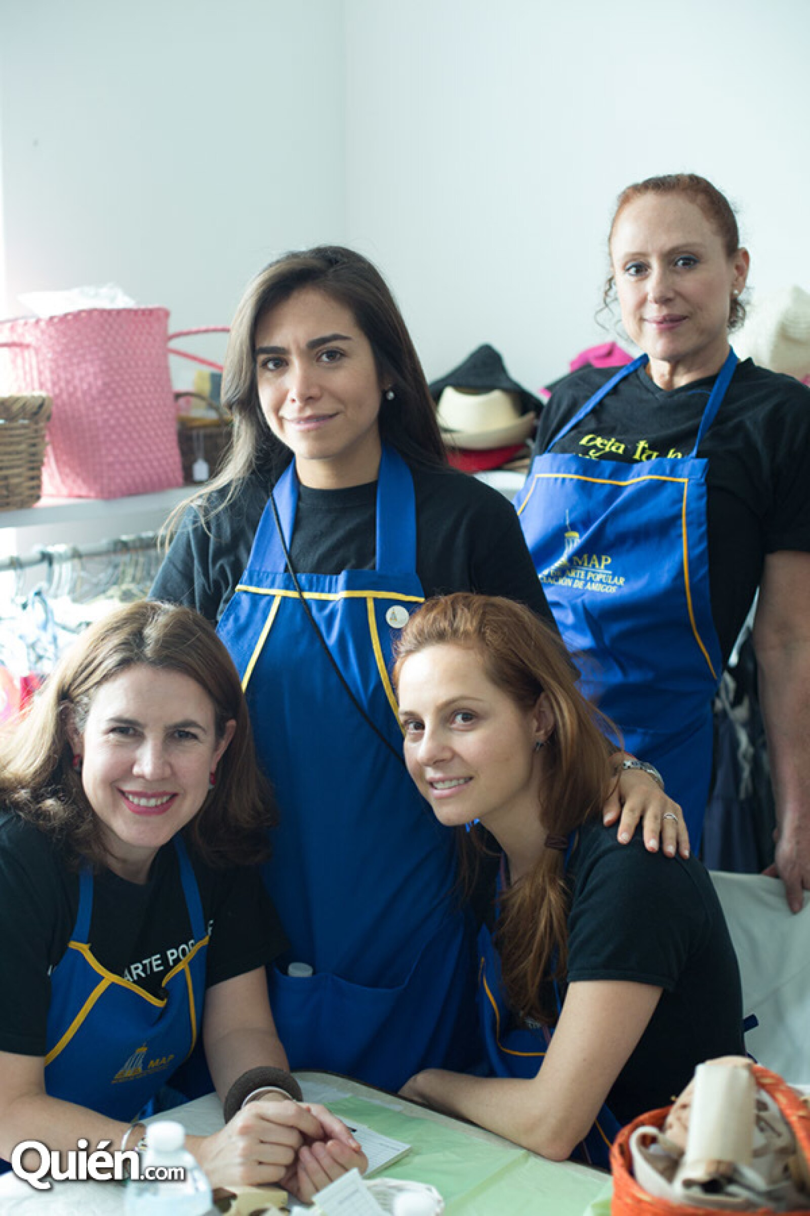 Mónica Vargas, Anna Irene Nava, Fernanda Abundis y Mely Lichtinger
