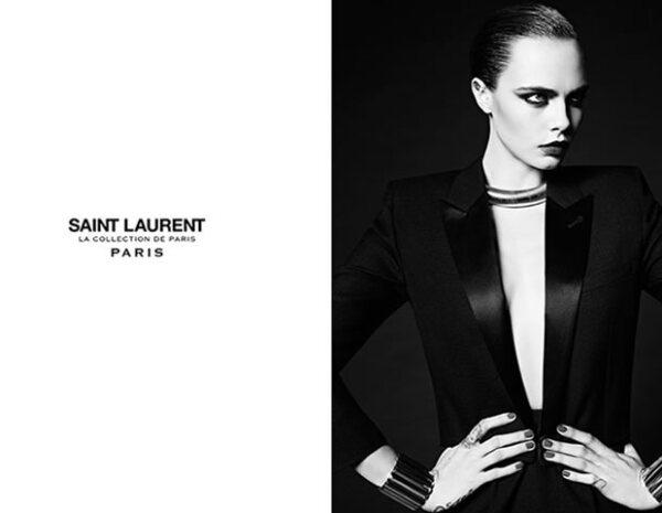 La modelo trabaja unicamente con YSL y Chanel