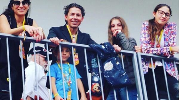 Para pasar un fin de semana lleno de adrenalina y emoción, muchas familias se reunieron en el Autódromo Hermanos Rodríguez. ¿A quién nos encontramos?