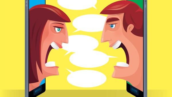 guerra de opiniones - opiniones - opinión - crispación - ira - redes sociales