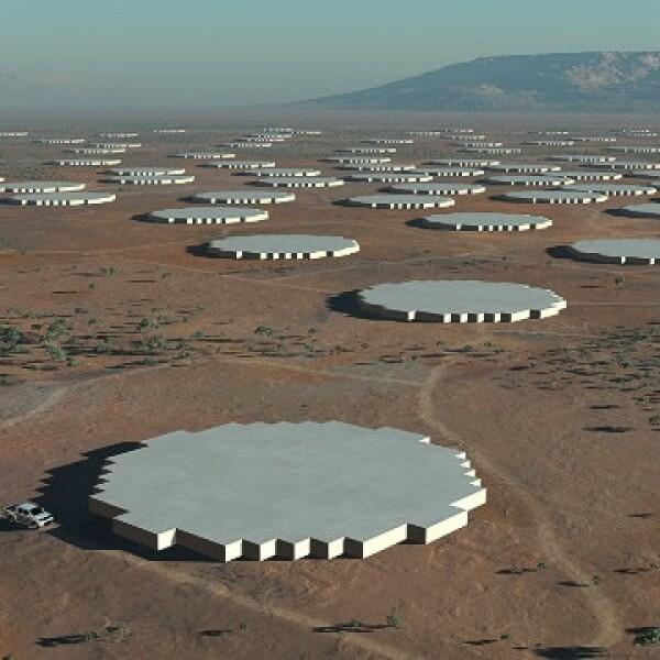 ciencia, tecnologia, telescopio, radiotelescopio, australia, sudafrica, universo