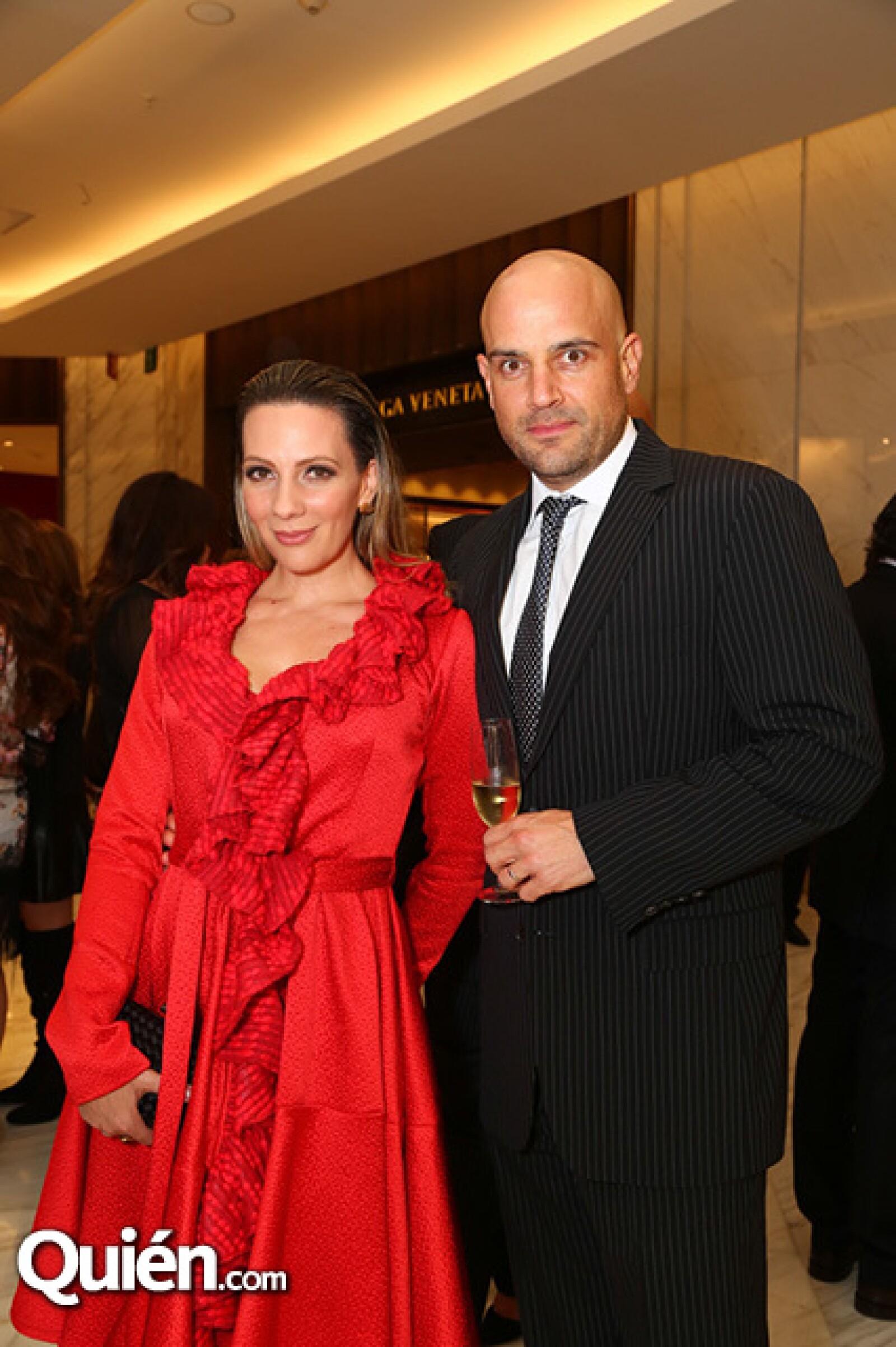 Zarina y Manuel Rivera