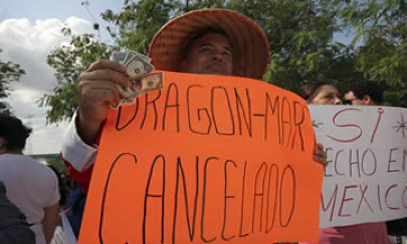 El proyecto de Dragon Mart ha generado rechazo en diversos sectores de la sociedad. (Foto: Cuartoscuro)