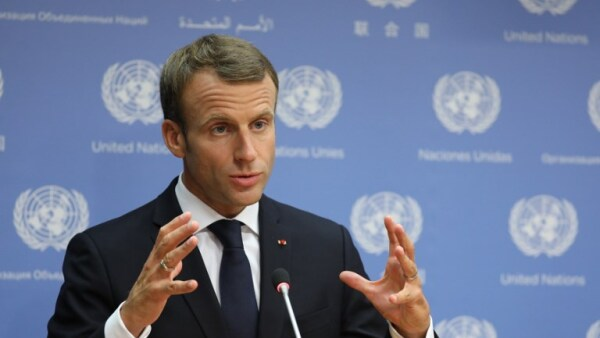 Emmanuel Macron ONU