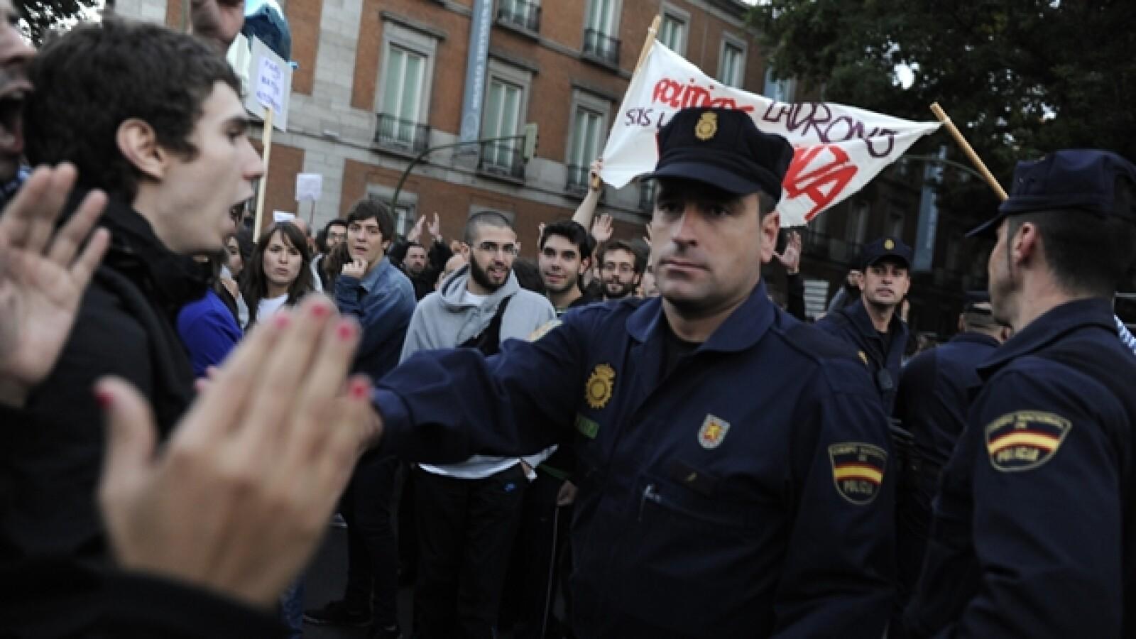 ESPAÑA segundo día de protestas