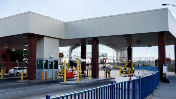 The United States And Mexico Border Crossing November 2018