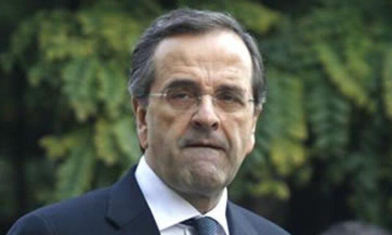 Samaras sostiene que su partido ha demostrado su compromiso al respaldar la coalición liderada por Lucas Papademos y su nuevo presupuesto. (Foto: Reuters)