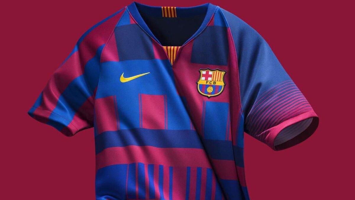 Nike festeja 20 años con el Barcelona con este jersey de edición especial 1e345449166