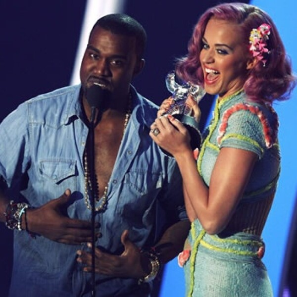 Katy Perry MTV Kanye West