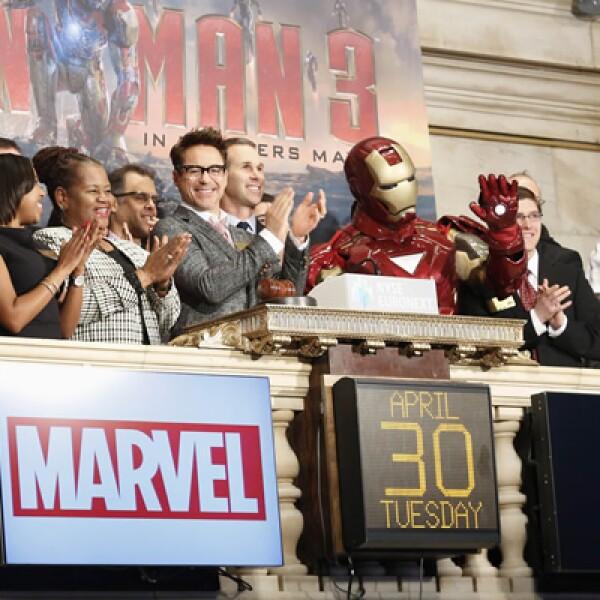 Marvel Comics y Disney son las encargadas de llevar a la pantalla la saga de Iron Man.