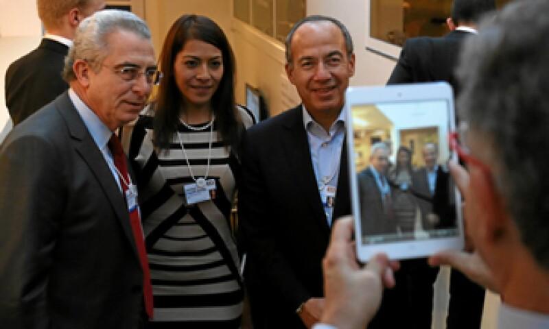 Zedillo (izq) gobernó México de 1994 al año 2000, mientras Calderón (der) lo hizo del 2006 al 2012. (Foto: Notimex)