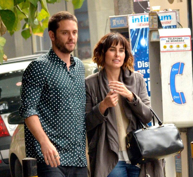 Christopher Uckermann y Ana Serradilla