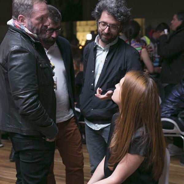 Pablo del Val,Joao Morao,Luis Silva y Zélika García